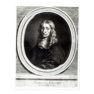 Portrait of Francois Mansart Postcard