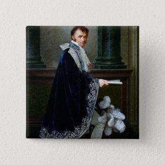 Portrait of Francois-Nicolas Mollien  1806 Pinback Button