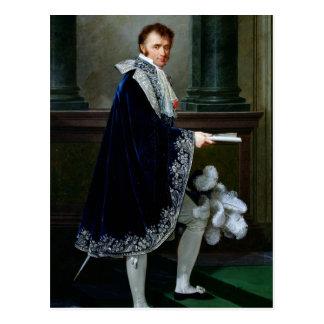 Portrait of Francois-Nicolas Mollien  1806 Postcard