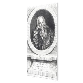 Portrait of Francois Quesnay Canvas Print