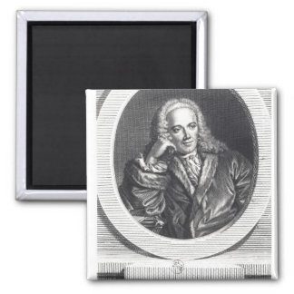 Portrait of Francois Quesnay Magnet