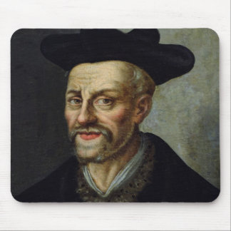 Portrait of Francois Rabelais Mouse Pad
