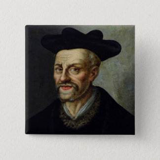 Portrait of Francois Rabelais Pinback Button