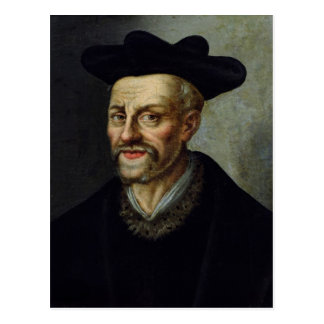 Portrait of Francois Rabelais Postcard