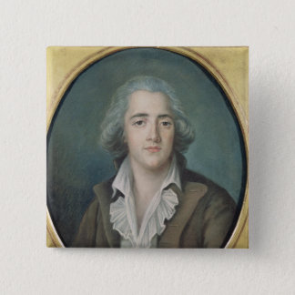 Portrait of Francois Rene Vicomte de 2 Pinback Button