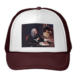 Portrait Of François Tronchin With Its Rembrandt P Mesh Hat