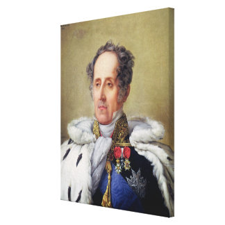 Portrait of Francois Vicomte de Chateaubriand Canvas Print