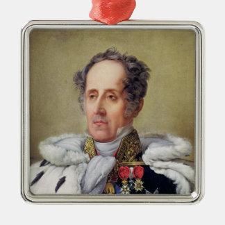 Portrait of Francois Vicomte de Chateaubriand Metal Ornament
