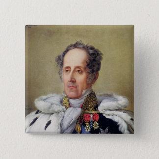 Portrait of Francois Vicomte de Chateaubriand Pinback Button