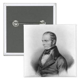 Portrait of Francois Xavier Bichat Pinback Button