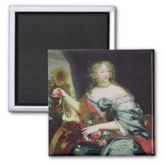 Portrait of Francoise-Athenaise Rochechouart Refrigerator Magnet