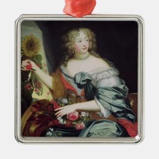 Portrait of Francoise-Athenaise Rochechouart Metal Ornament