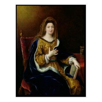 Portrait of Francoise d'Aubigne  Marquise Postcard