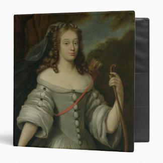 Portrait of Francoise Louise de la Baume 3 Ring Binder