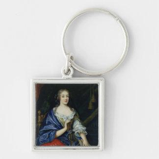 Portrait of Francoise-Louise de la Baume le Blanc Keychain