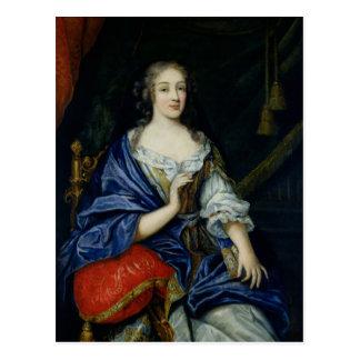 Portrait of Francoise-Louise de la Baume le Blanc Postcard