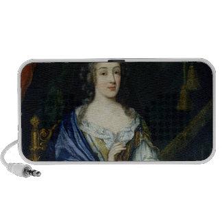 Portrait of Francoise-Louise de la Baume le Blanc Mini Speakers