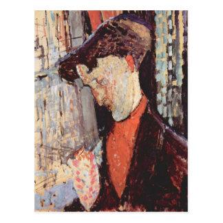 Portrait of Frank Burty Haviland by Modigliani Postcard