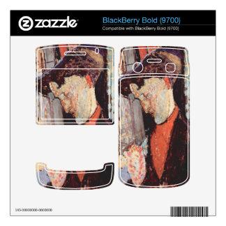 Portrait of Frank Burty Haviland by Modigliani Skins For BlackBerry