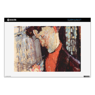 "Portrait of Frank Burty Haviland by Modigliani Decals For 13"" Laptops"