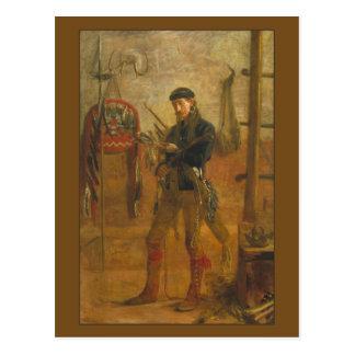 Portrait of Frank Hamilton Cushing by Thomas Eakin Postcard