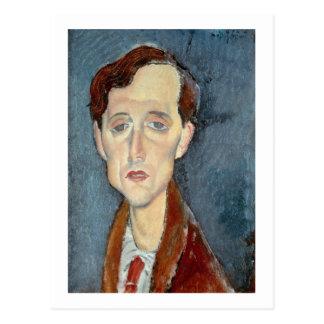 Portrait of Franz Hellens 1919 oil on canvas Postcards