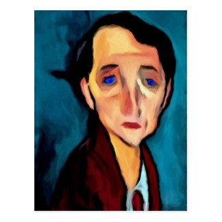 portrait-of-franz-hellens post cards