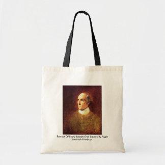 Portrait Of Franz Joseph Graf Saurau Tote Bags