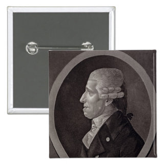 Portrait of Franz Joseph Haydn Pinback Button