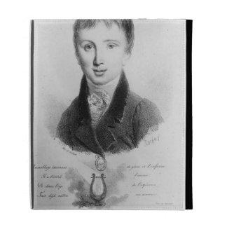 Portrait of Franz Liszt (1811-86) aged 11 (engravi iPad Cases