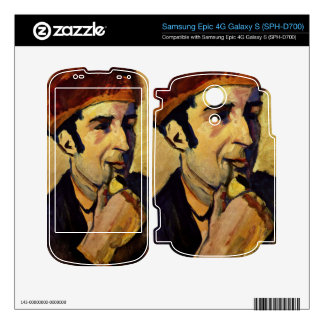 Portrait of Franz Marc by August Macke Decals For Samsung Epic