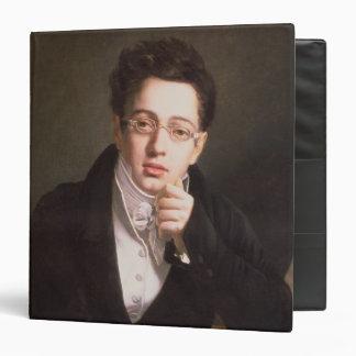Portrait of Franz Schubert , Austrian composer Binder