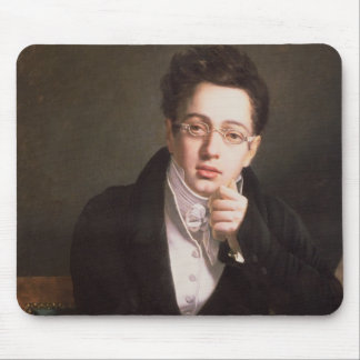 Portrait of Franz Schubert , Austrian composer Mouse Pad