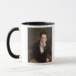 Portrait of Franz Schubert , Austrian composer Mug