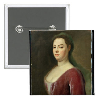 Portrait of Frau Denner 2 Inch Square Button