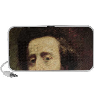 Portrait of Frederic Chopin 2 Portable Speakers