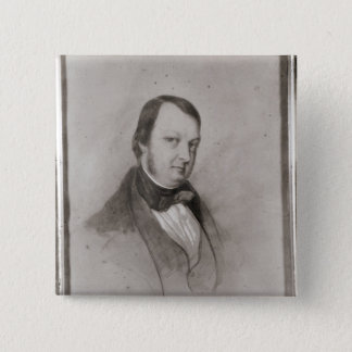 Portrait of Frederic Chopin Button