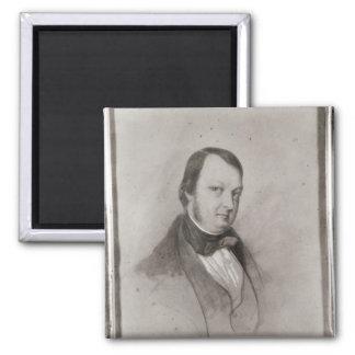 Portrait of Frederic Chopin Fridge Magnets