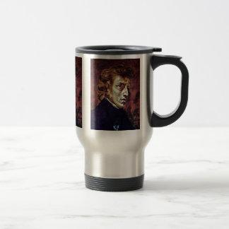 Portrait Of Frédéric Chopin Coffee Mugs