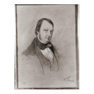 Portrait of Frederic Chopin Postcard