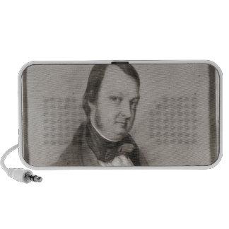 Portrait of Frederic Chopin Travel Speaker