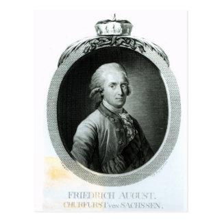 Portrait of Frederick Augustus I Postcard