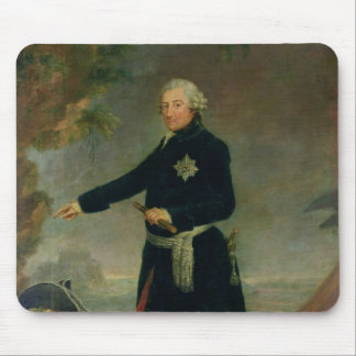 Portrait of Frederick II  the Great, 1772 Mouse Pad