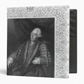 Portrait of Frederick North, Earl of Guildford Binder