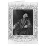 Portrait of Frederick North, Earl of Guildford Greeting Card