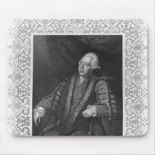 Portrait of Frederick North, Earl of Guildford Mouse Pads