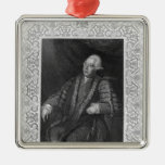 Portrait of Frederick North, Earl of Guildford Ornament