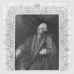 Portrait of Frederick North, Earl of Guildford Stickers