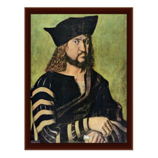 Portrait Of Frederick The Wise Elector Of Saxony Postcard