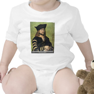 Portrait Of Frederick The Wise Elector Of Saxony T-shirt
